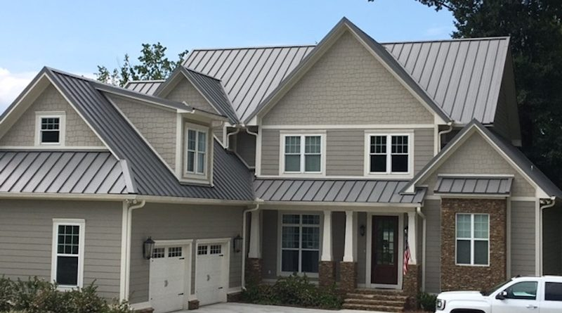 The New Trend in Residential Metal Roofing